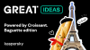 GReAT Ideas. Powered by Croissant. Baguette edition.