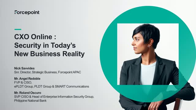 CXO Online: Security in Today's New Business Reality.