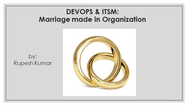 DevOps and ITSM: Marriage made in organization