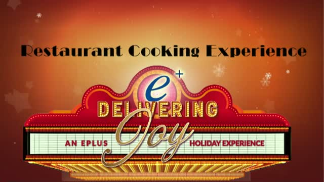 Restaurant Cooking Experience