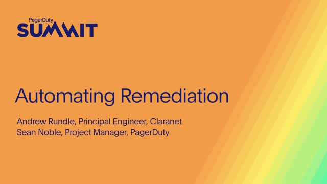 Automating Remediation