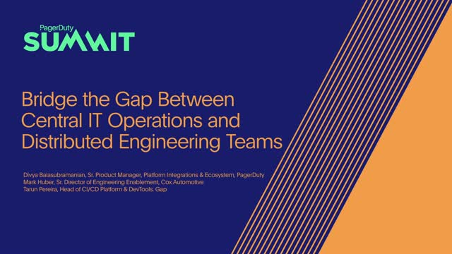 Bridge the Gap Between Central IT Teams and Business Stakeholders