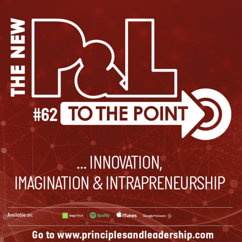 The New P&L TO THE POINT: Corporate Innovation, Imagination and Intrapreneurship