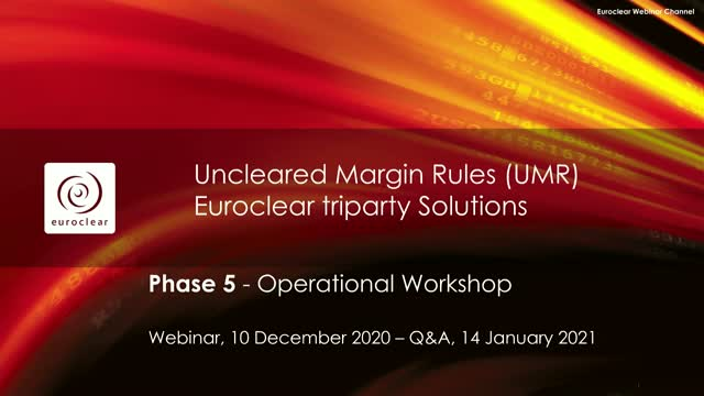 Supporting your UMR phase 5 preparations - Additional live Q&A