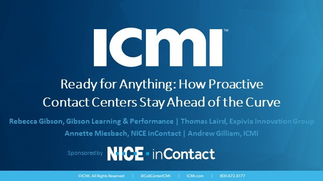 Ready for Anything: How Proactive Contact Centers Stay Ahead of the Curve