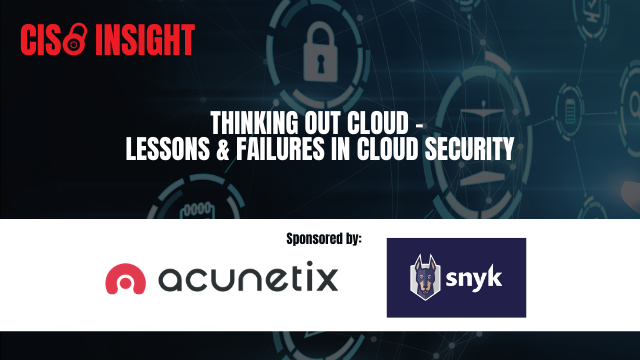 Thinking Out cLoud - Lessons & Failures in Cloud Security