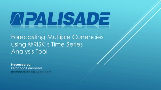 Forecasting Multiple Currencies for your Portfolio