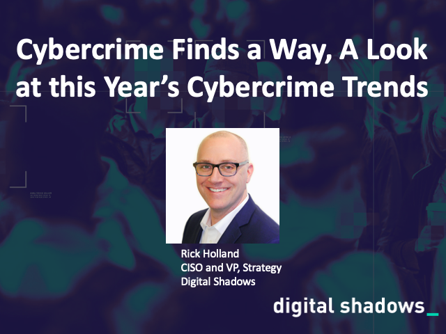 Cybercrime finds a way, a look at this year's cybercrime trends