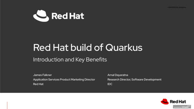 Find out why the future of Java is Quarkus