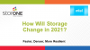 How Will Storage Change in 2021?