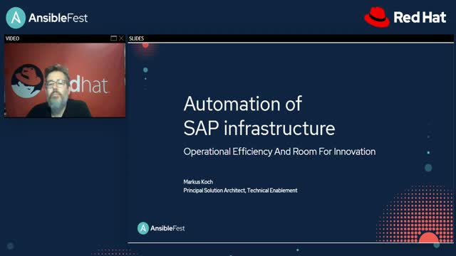 SAP Infrastructure Automation: Operational Efficiency and Innovation