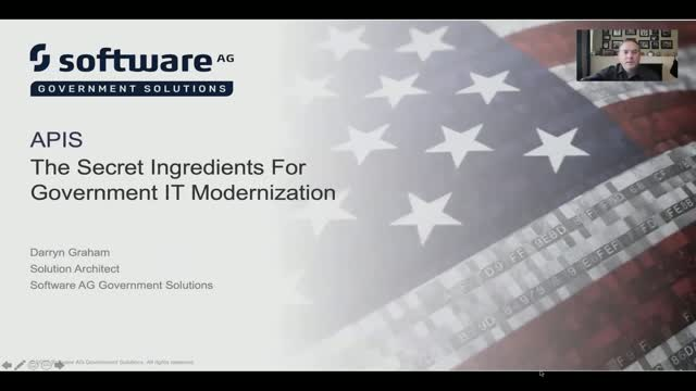 APIs – The Secret Ingredient For Government IT Modernization