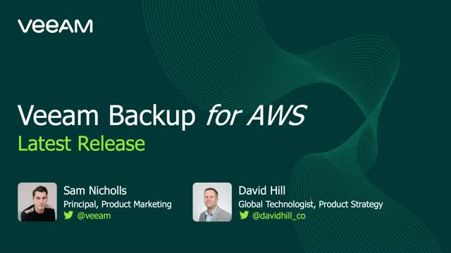 Veeam Backup for AWS v2 - All You Need to Know
