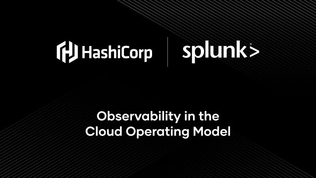 Observability in the Cloud Operating Model