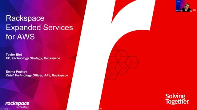 Rackspace Technology Expanded Services for AWS