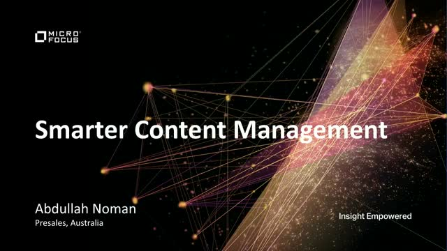 Smarter Content Management for 2021