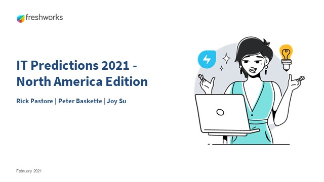 IT Predictions 2021 - North America Edition