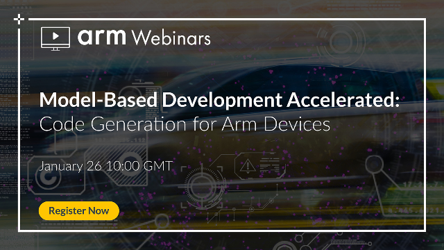 Model-Based Development Accelerated: Optimized Code Generation for Arm Devices