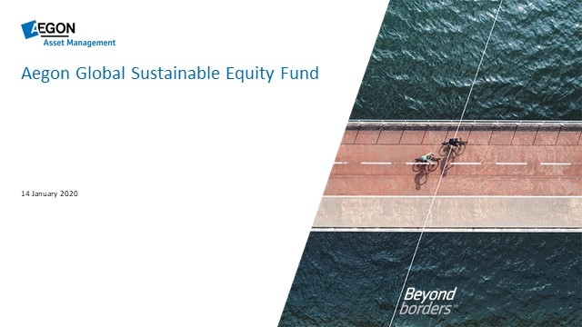Aegon AM Global Sustainable Equity Fund update