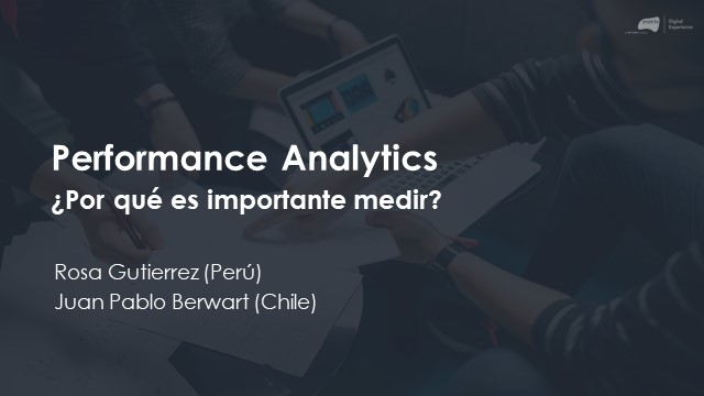 Performance Analytics ¿Por qué es importante medir?