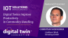 Digital Twins Improve Productivity in Commodity Handling