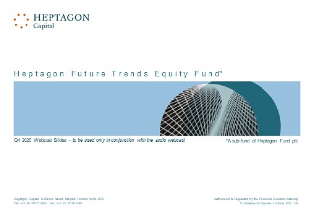 Heptagon Future Trends Equity Fund Q4 2020 Webcast
