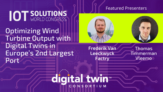 Optimizing Wind Turbine Output with Digital Twins in Europe's 2nd Largest Port