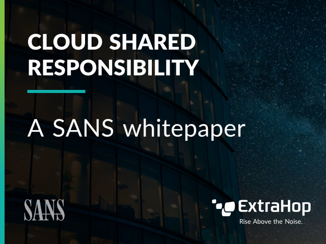 Cloud Shared Responsibility: A SANS Whitepaper