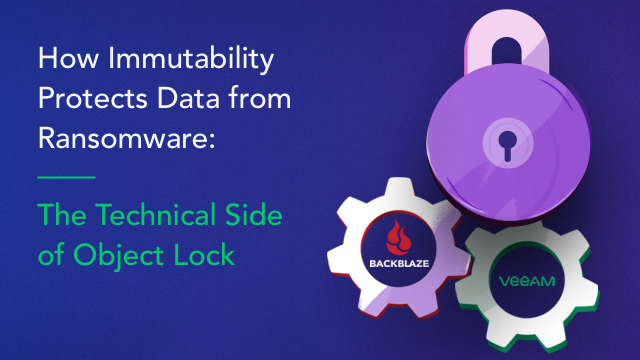 How Immutability Protects Data from Ransomware: Technical Side of Object Lock
