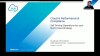 Cloud Is Performance and Compliance - Episode 2 of 3