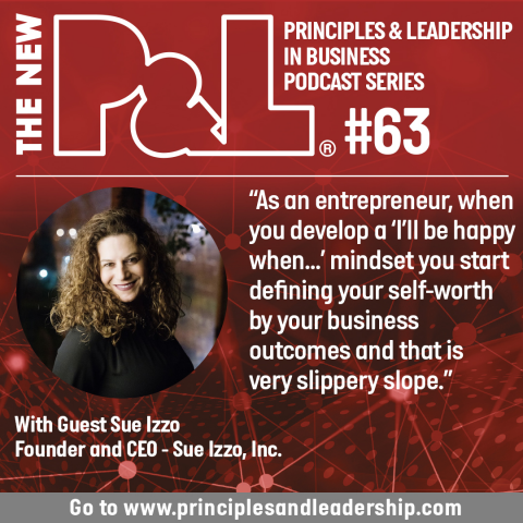 The New P&L speaks to Sue Izzo, self-described Female Jerry Maguire & Strategist
