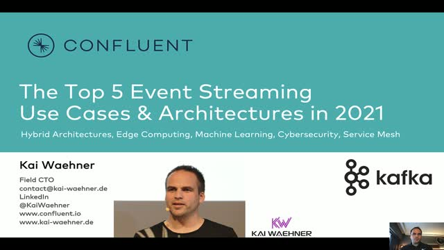 The Top 5 Event Streaming Use Cases & Architectures in 2021