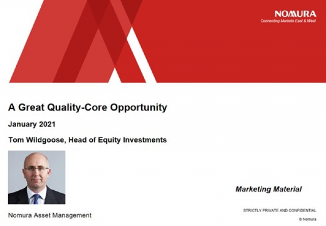 Nomura Global High Conviction Equity Fund Update