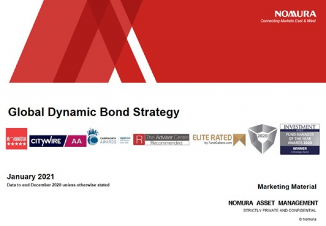 Nomura Global Dynamic Bond Fund Update with Dickie Hodges