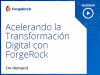 Acelerando la transformación digital con ForgeRock