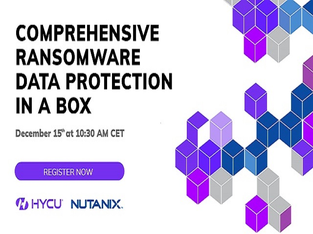 Comprehensive ransomware data protection in-a-box