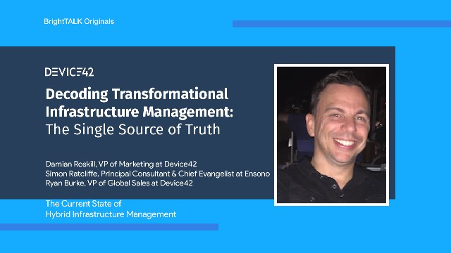 [Ep.2] Transformational Infrastructure Management: The Single Source of Truth