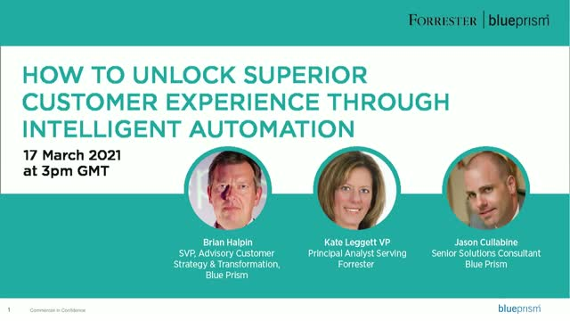 How to Unlock Superior Customer Experience through Intelligent Automation