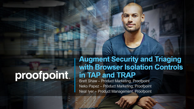 Live Demo: Augment Security & Triaging with Browser Isolation Controls