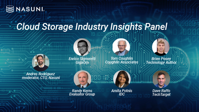 Cloud Storage Industry Insights Panel