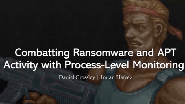 [APAC] Combatting ransomware and APT activity with process-level monitoring