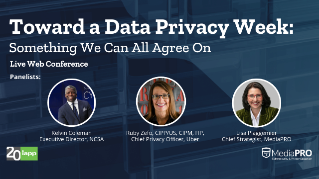 Toward a Data Privacy Week: Something We Can All Agree On