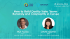 How to Build Quality Sales Teams Remotely and Compliantly in Europe