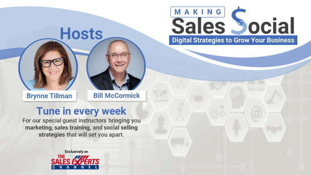 Making Sales Social: Digital Strategies to Grow Your Business - Episode 1