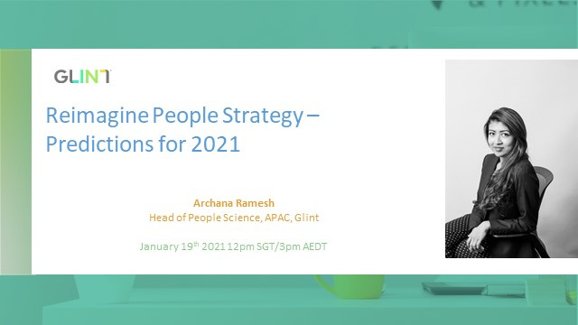 [APAC] Reimagine People Strategy - Predictions for 2021