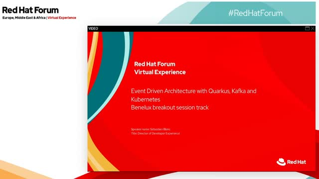 Event Driven Architecture with Quarkus, Kafka and Kubernetes