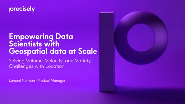 Data Science Series: Solving Volume, Velocity, and Variety Challenges with Data