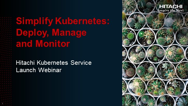 Simplify Kubernetes: Deploy, Manage and Monitor
