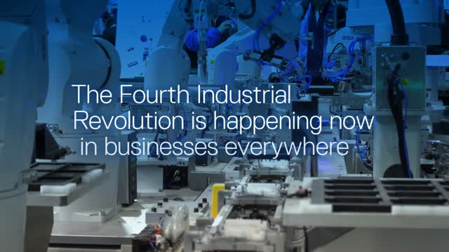 The Fourth Industrial Revolution is happening now in businesses everywhere