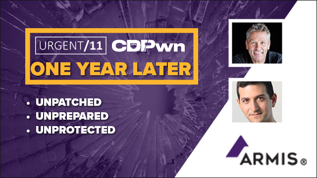 URGENT11 and CDPwn - One Year Later: Unpatched, Unprepared, Unprotected